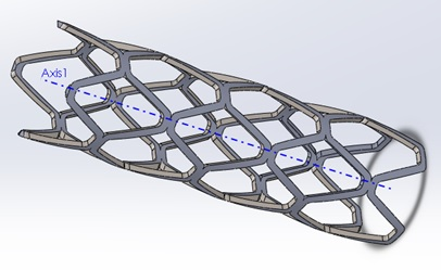 Computational Modeling of Stent Implant Procedure and Comparison of Different Stent Materials